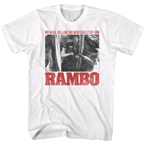 Image for Rambo T-Shirt - No One