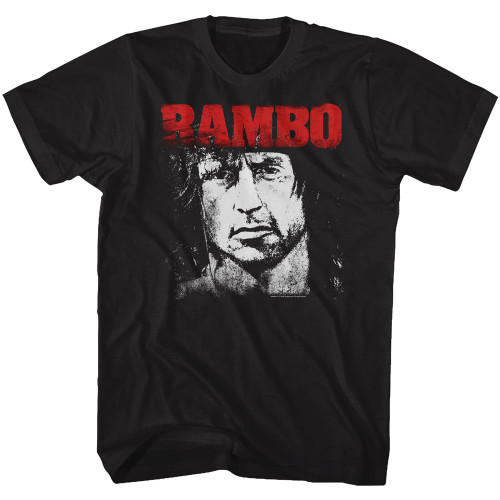 Image for Rambo T-Shirt - Red & White