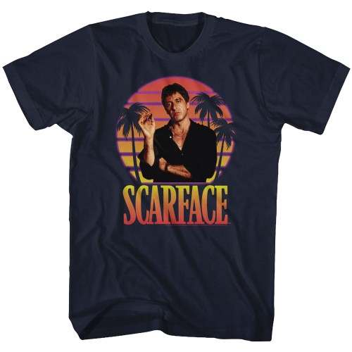 Image for Scarface T-Shirt - Miami Sunset