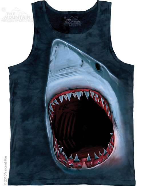 Image for The Mountain Tank Top - Shark Bite