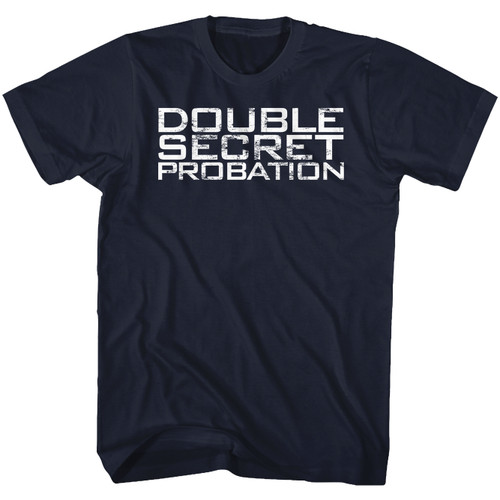 Image for Animal House T-Shirt - Put Them on Double Secret Probation