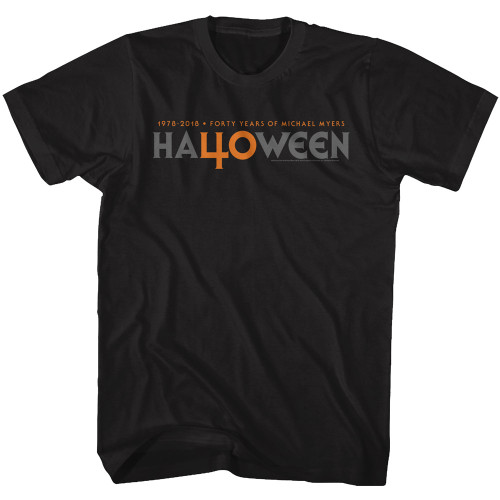 Image for Halloween T-Shirt - 40 Years