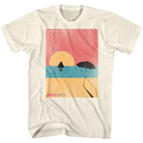 Image for Jaws T-Shirt - Visiting Amity Island