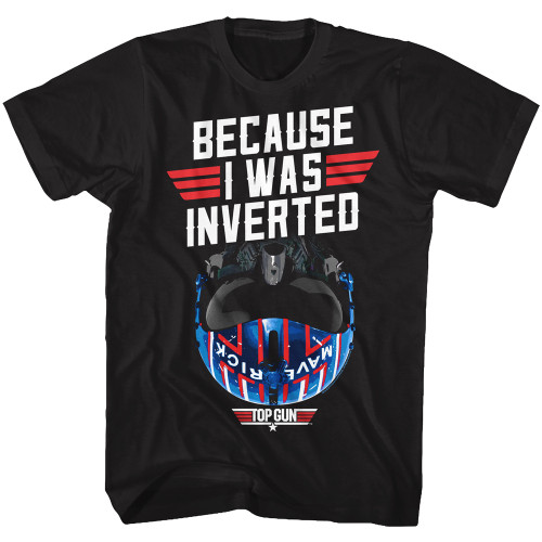 Image for Top Gun T-Shirt - I was Inverted