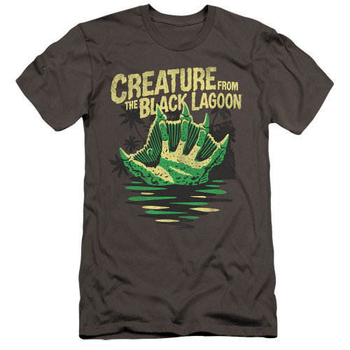 Image for The Creature From the Black Lagoon Premium Canvas Premium Shirt - Creature Breacher