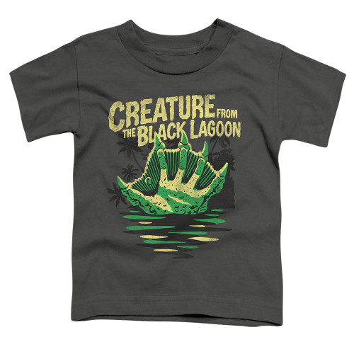 Image for The Creature From the Black Lagoon Creature Breacher Poster Toddler T-Shirt