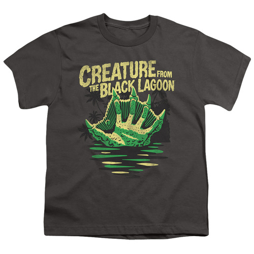 Image for The Creature From the Black Lagoon Youth T-Shirt - Creature Breacher