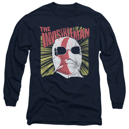 Image for The Invisible Man Long Sleeve Shirt - Portrait