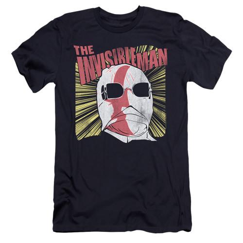 Image for The Invisible Man Premium Canvas Premium Shirt - Portrait