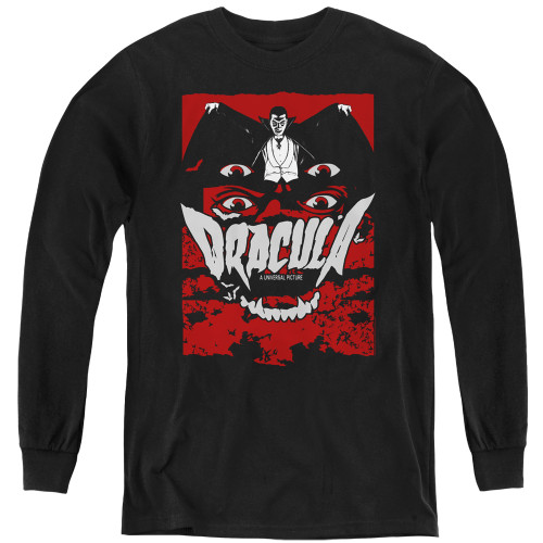 Image for Dracula Youth Long Sleeve T-Shirt - As I Have Lived