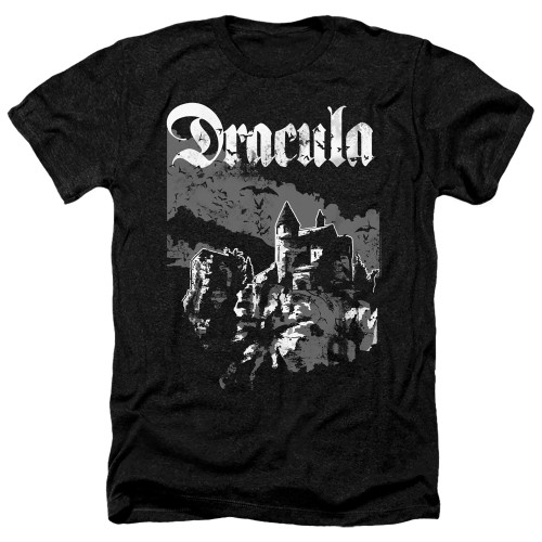 Image for Dracula Heather T-Shirt - Castle