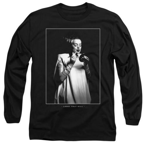 Image for Bride of Frankenstein Long Sleeve Shirt - Looks That Kill