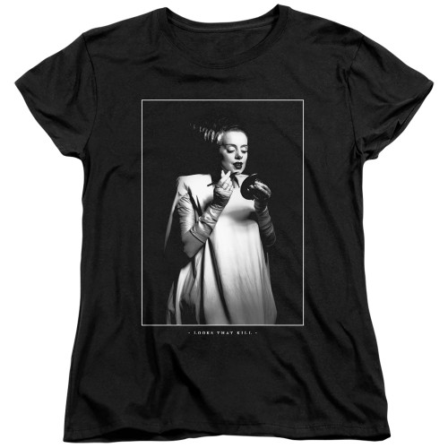 Image for Bride of Frankenstein Womans T-Shirt - Looks That Kill
