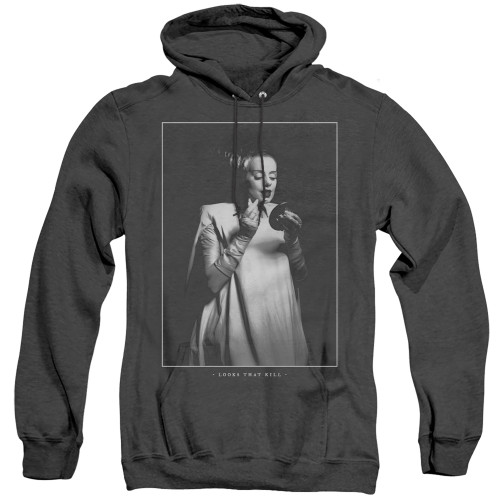 Image for Bride of Frankenstein Heather Hoodie - Looks That Kill