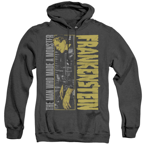 Image for Frankenstein Heather Hoodie - The Man Who Made a Monster