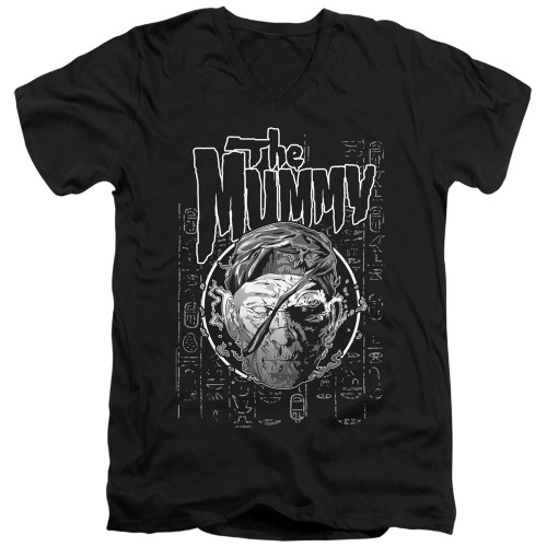 Image for The Mummy V Neck T-Shirt - Rise