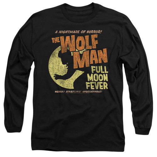 Image for The Wolfman Long Sleeve Shirt - Full Moon Fever