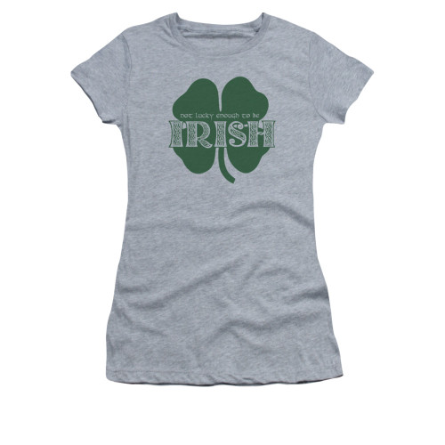 Image for Saint Patricks Day Girls T-Shirt - Lucky to be Irish