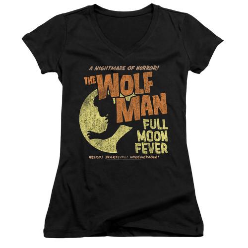 Image for The Wolfman Girls V Neck - Full Moon Fever