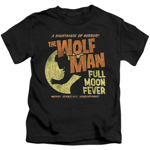 Image for The Wolfman Full Moon Fever Kid's T-Shirt
