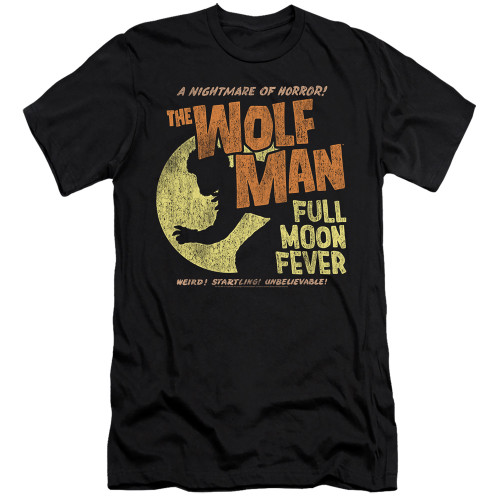 Image for The Wolfman Premium Canvas Premium Shirt - Full Moon Fever