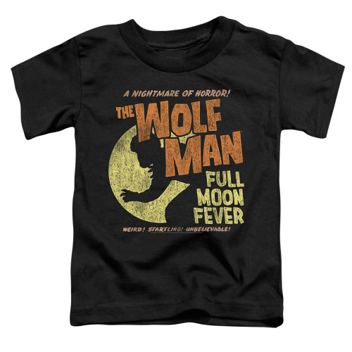Image for The Wolfman Full Moon Fever Poster Toddler T-Shirt