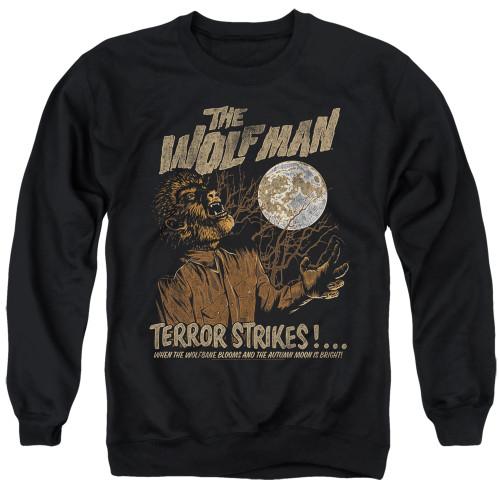 Image for The Wolfman Crewneck - Terror Strikes
