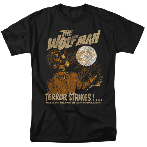 Image for The Wolfman T-Shirt - Terror Strikes