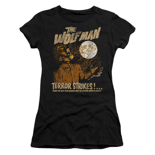 Image for The Wolfman Girls T-Shirt - Terror Strikes