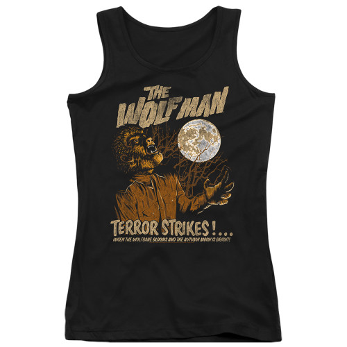 Image for The Wolfman Girls Tank Top - Terror Strikes