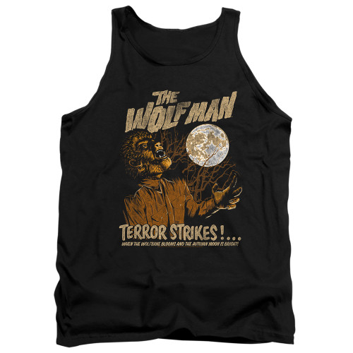 Image for The Wolfman Tank Top - Terror Strikes