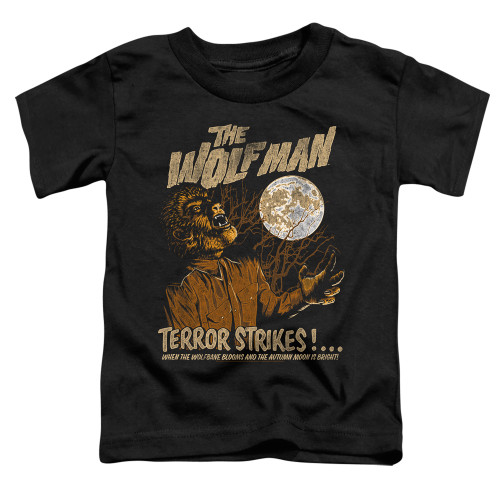 Image for The Wolfman Terror Strikes Poster Toddler T-Shirt