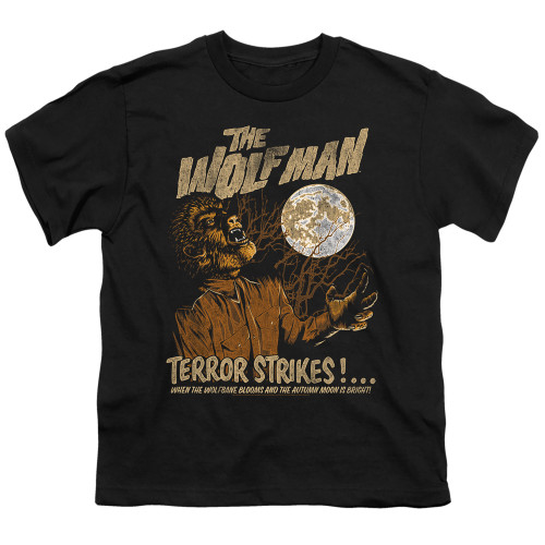 Image for The Wolfman Youth T-Shirt - Terror Strikes