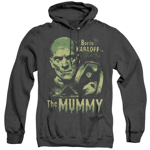 Image for The Mummy Heather Hoodie - Boris Karloff