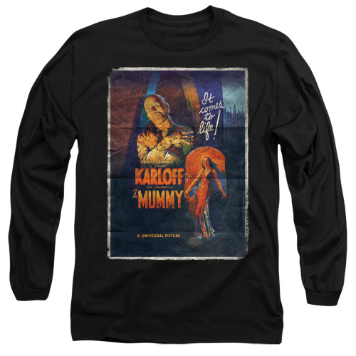 Image for The Mummy Long Sleeve Shirt - One Sheet