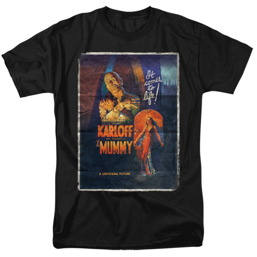 Image for The Mummy T-Shirt - One Sheet