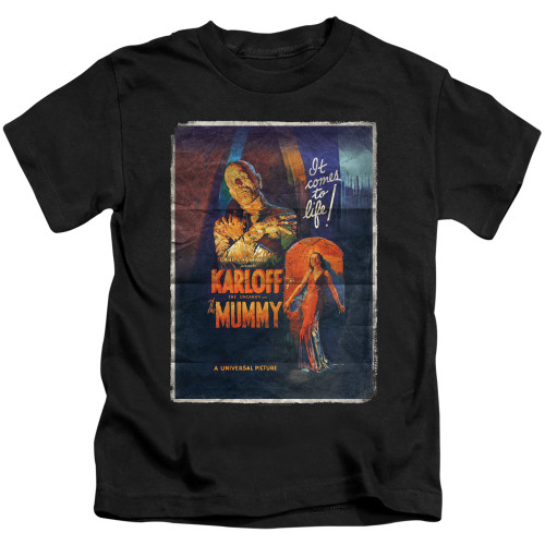 Image for The Mummy One Sheet Kid's T-Shirt