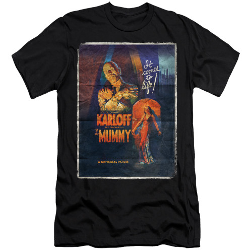 Image for The Mummy Premium Canvas Premium Shirt - One Sheet