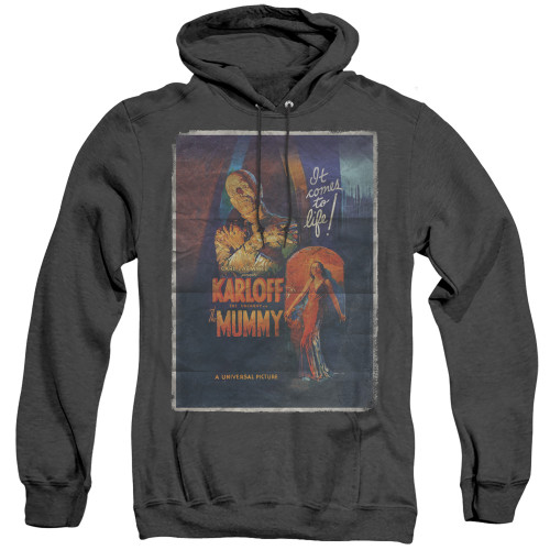 Image for The Mummy Heather Hoodie - One Sheet