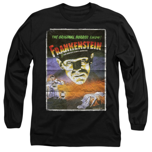 Image for Frankenstein Long Sleeve Shirt - One Sheet