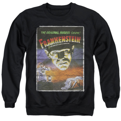 Image for Frankenstein Crewneck - One Sheet