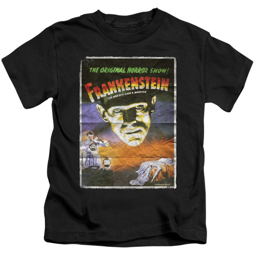 Image for Frankenstein One Sheet Kid's T-Shirt