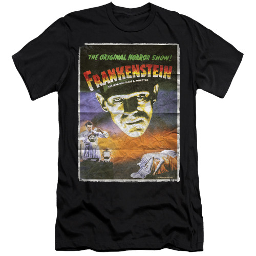 Image for Frankenstein Premium Canvas Premium Shirt - One Sheet