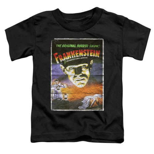 Image for Frankenstein One Sheet Poster Toddler T-Shirt