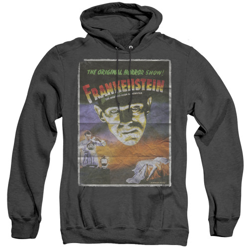 Image for Frankenstein Heather Hoodie - One Sheet