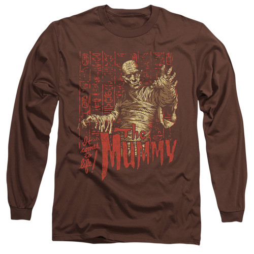 Image for The Mummy Long Sleeve Shirt - It Comes to Life