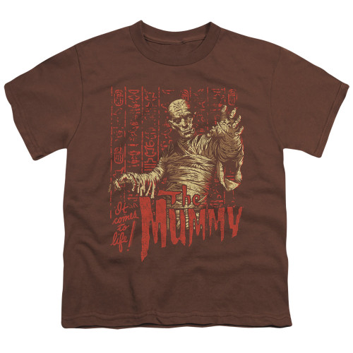 Image for The Mummy Youth T-Shirt - It Comes to Life