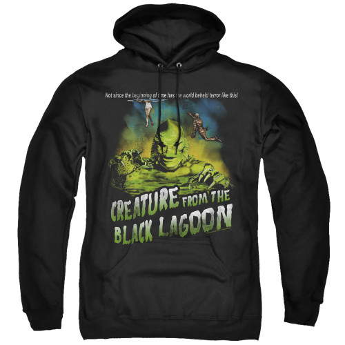 Image for The Creature From the Black Lagoon Hoodie - Not Since the Beginning of Time