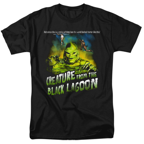 Image for The Creature From the Black Lagoon T-Shirt - Not Since the Beginning of Time