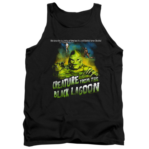 Image for The Creature From the Black Lagoon Tank Top - Not Since the Beginning of Time